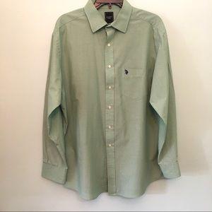 Men's US Polo Assn. Long Sleeve Button Down Shirt